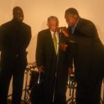 Hank Stewart, Rev. Dr. Joseph Lowery and John Wilkins