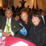 Rev. Dr. Joseph Lowery and his wife, Evelyn, with Carol Blackmon