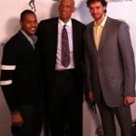 Carmelo Anthony, Kareem Abdul-Jabbar, Pau Gasol  - Kareem Abdul-Jabbar Film Premiere - L.A.