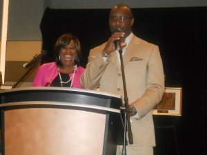 Roger Bobb and Karyn Greer - Hosts for The Untold Stories Luncheon.