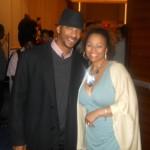Kim Fields (Trailblazer Award) with her husband. Christopher.