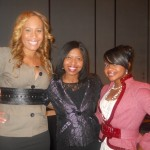 Chanita Foster (Football Wives) and Phaedra Parks (Real Housewivves of Atlanta) with Sonya.