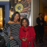 Sonya with Sheryl Riley Gripper, Bronzelens Film Festival Founder.