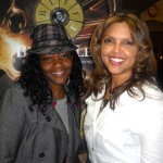 "Michele Pierre from Clear Channel Radio and Lisa Thompson attend ""I Will Follow"" screening."