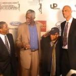 Norm Nixon, Bill Russell, Quincy Jones, Kareem Abdul-Jabbar - Kareem Abdul-Jabbar Film Premiere - L.A.