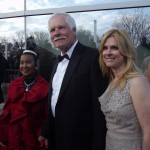 Xernona Clayton, Ted Turner (left, mid).