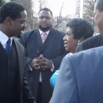 Blair Underwood, Aretha Franklin