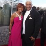 Scarlet Pressley-Brown and husband