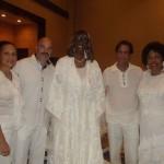 Nena Bermudez, Donald Bermudez, Dr. Barbara King, Congresswoman Diane Watson