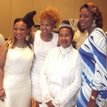 Tarra Williams Reown, Donna Richardson Joyner, Xernona Clayton, Patrice Ellis