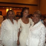 Guests of Chris Tucker, Dr. Patricia J. Lewis (left), Mary Tucker (right).