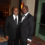 Honorable Obie Wilchombe and Rev. Dr. Raphael Gamaliel Warnock.