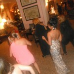 Guests do the Electric Slide at the After-Party - Atlantis