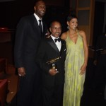 Alonzo & Tracy Mourning with Edward T. Welburn Jr.