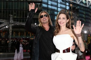 Brad Pitt and Angelina Jolie at the Berlin premiere of WORLD WAR Z - Berlin.