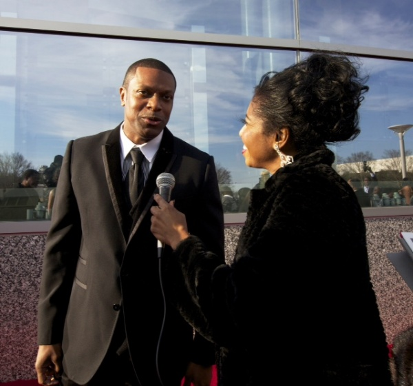 Sonya Jenkins interviews Chris Tucker