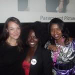 Actresses Tara Ochs, Charity Jordan (Viola in #SelmaFilm) & Sonya Jenkins