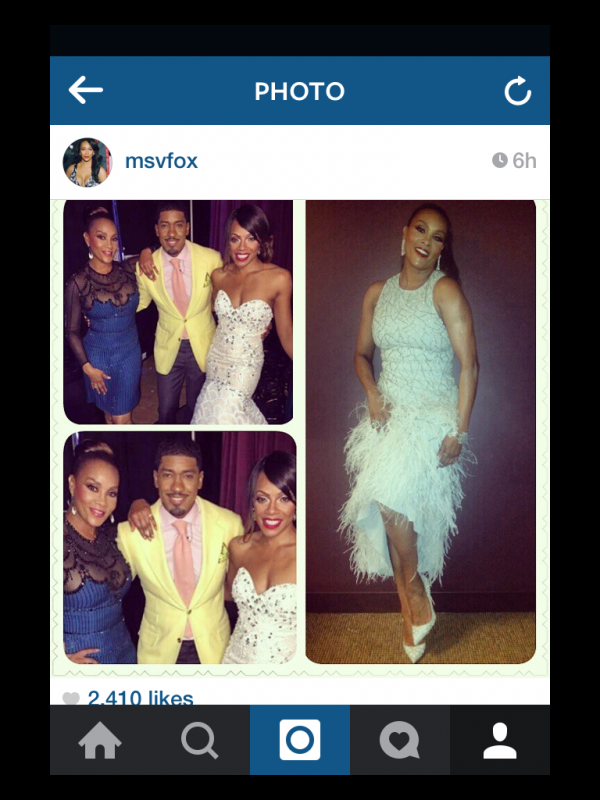 "Vivica A. Fox posted her Allstate Gospel Superfest photo on Instagram, stating that she had a ""Blast"" Hosting."