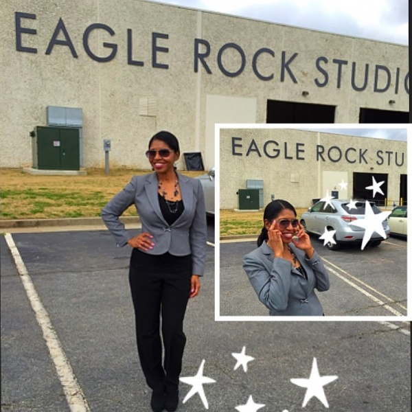 Sonya at Eagle Rock Studios for GREENLEAF.