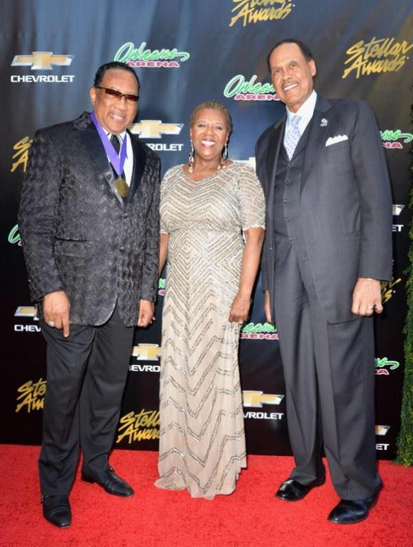 Dr. Bobby Jones, Erma Gray-Davis and Don Jackson