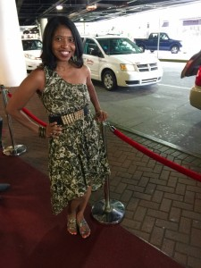 Sonya Jenkins - Essence Fest ready! On way to The French Quarter in New Orleans after arriving in New Orleans.