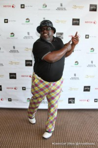 Cedric The Entertainer prepares to tee-off at his 3rd Annual Cedric The Entertainer Celebrity Golf Classic.