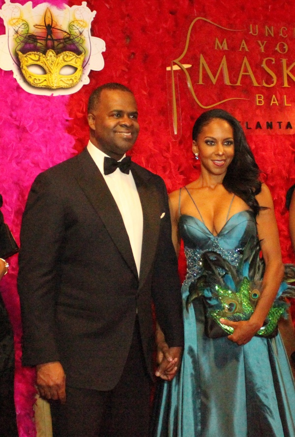 Atlanta Mayor Kasim Reed and First Lady Sarah-Elizabeth Reed