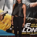 Actress Tika Sumpter at advance screening of Ride Along 2 in Atlanta