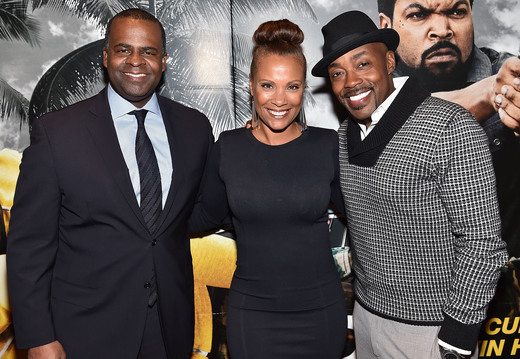 Atlanta mayor Kasim Reed, Heather Hayslett, and Will Packer