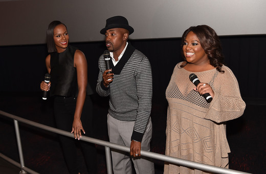 Tika Sumpter, Will Packer, and Sherri Shepherd
