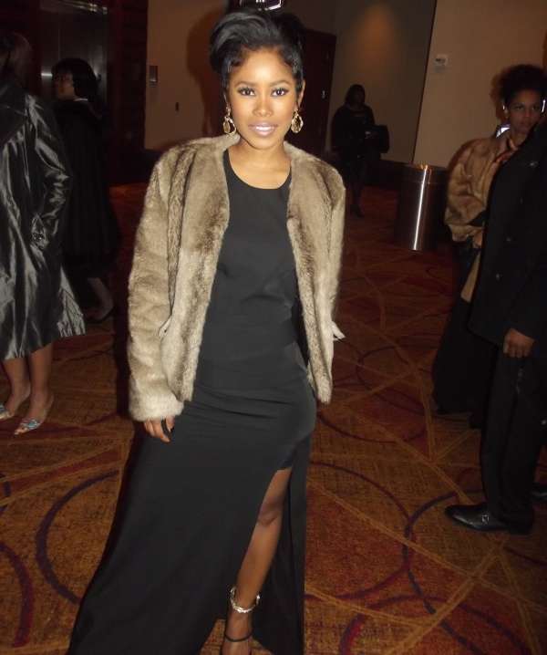 Jasmine Burke at the 2016 Trumpet Awards