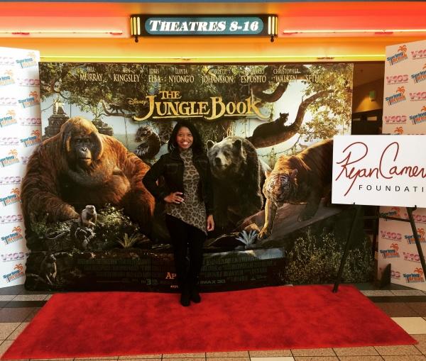Sonya Jenkins at The Jungle Book VIP Screening - Atlanta