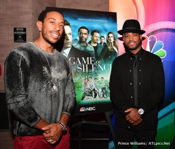 Ludacris and Larenz Tate