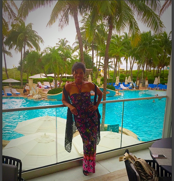 AUTHOR, JOURNALIST, BLOGGER, ACTRESS, SONYA JENKINS TAKES ON SOUTH BEACH - #ABFFBackToTheBeach