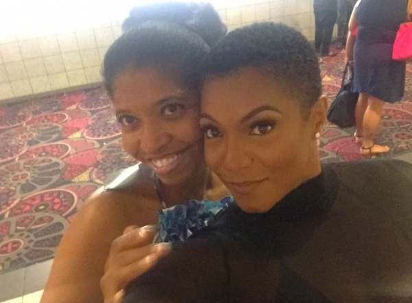 Sonya Jenkins & Actress Ernestine Johnson
