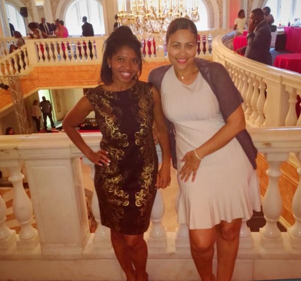 Sonya Jenkins and CiGi Britton - Georgia Reception