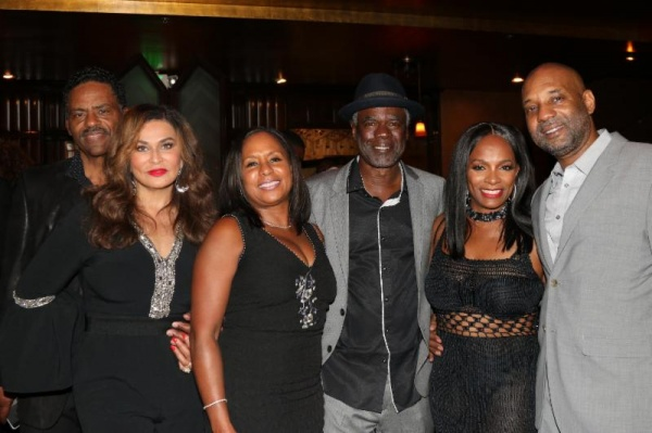 BLACK LOVE & MARRIAGE (L to R) Richard and Tina Knowles Lawson, Jo-An and Glynn Turman, Vanessa Bell and Tony Calloway are proof the black love and strong families exist in Hollywood at Vanessa Bell Calloway's sexy sixty birthday party.