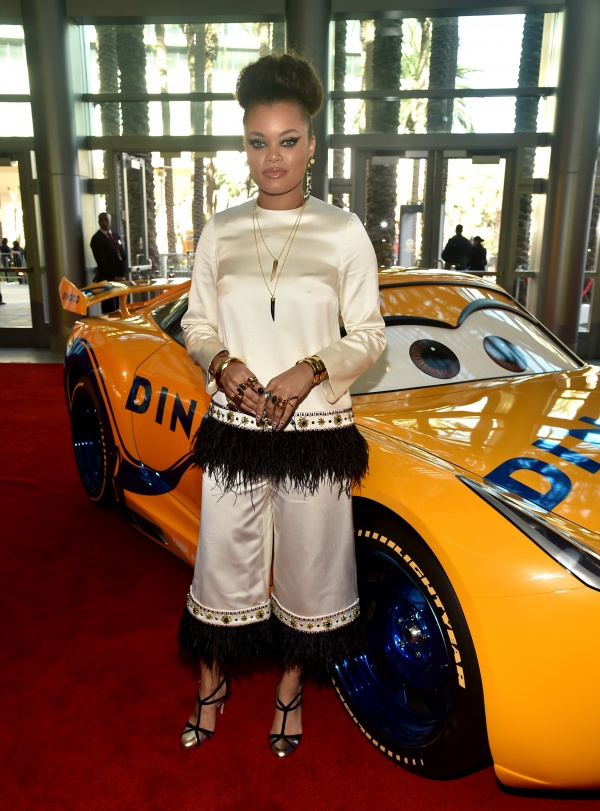 Recording artist Andra Day