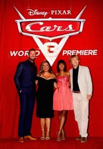 Actors Armie Hammer, Cristela Alonzo, Kerry Washington, and Owen Wilson.