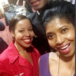 Delta Ambassadors Shannon Hasbrouck & Jon Megahy with Sonya Jenkins.