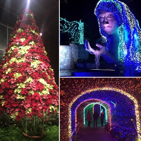 As One Of The First To Tour The Atlanta Botanical Gardenu0027s Seventh Annual Garden  Lights, Holiday Nights, ...
