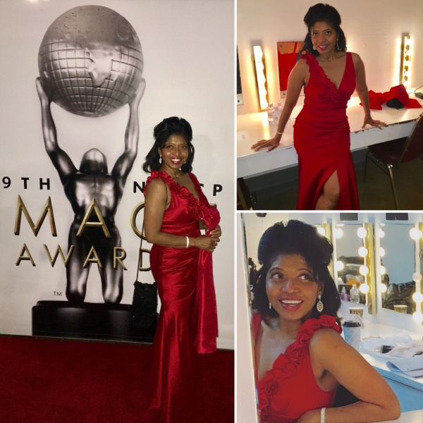 Sonya's Spotlight Publisher, Actress, Author Sonya Jenkins at NAACP Image Awards