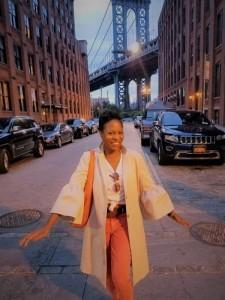 Jacqui Jenkins - Tourist Mode - Under Manhattan Bridge