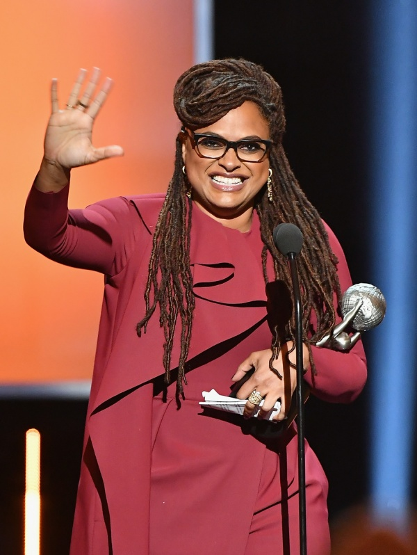 Ava DuVernay accepts the Entertainer of the Year award