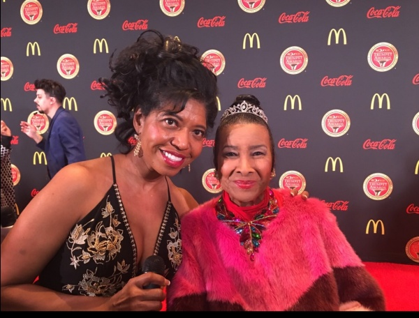Sonya's Spotlight Publisher, Sonya Jenkins, with Trumpet Awards Creator, Xernona Clayton