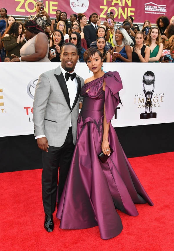 Letoya Luckett and husband
