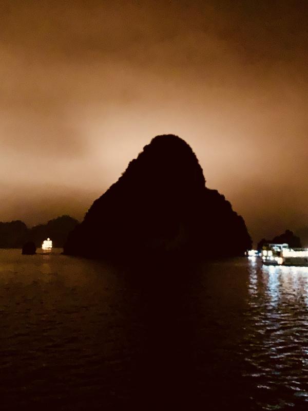 Halong Bay at night - Vietnam
