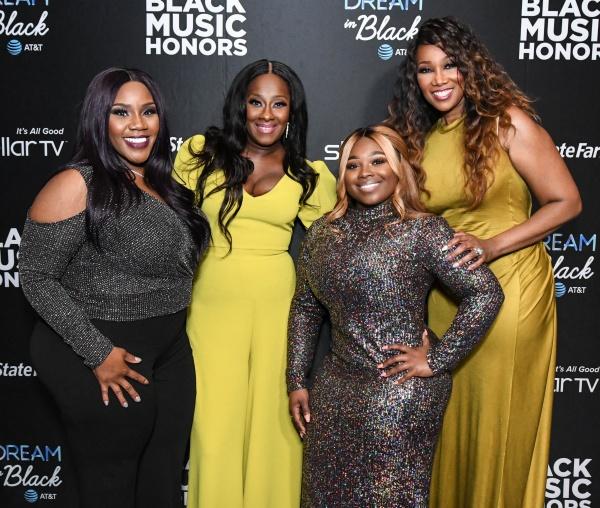 Kelly Price, LeAndria Johnson, Jekalyn Carr and Yolanda Adams