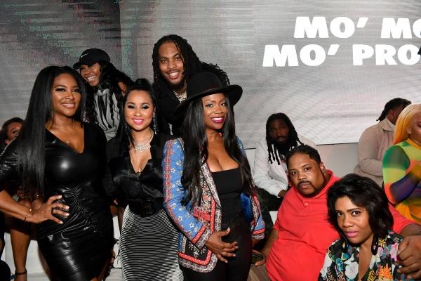 Waka-Kenya Moore, Tammy Rivera, Waka Flocka, Kandi Burruss, Bone Crusher, and Aneesah Hardnett